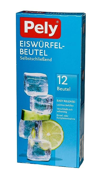 Compra pely 5146 - Bolsas para Cubitos de hielos (con ...