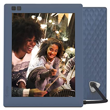 Nixplay Seed 8 Inch Wifi Digital Photo Frame Blue Amazonca