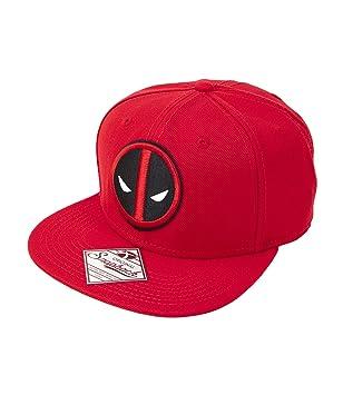 Marvel Deadpool Logo Snapback Gorra De Béisbol: Amazon.es: Juguetes y juegos