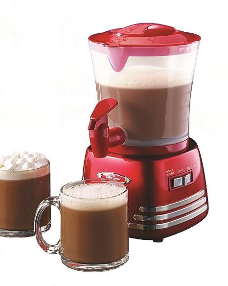 f7e070ae56475f Amazon.com  Nostalgia HCM700RETRORED Retro 32-Ounce Hot Chocolate ...