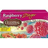 6-Pack Celestial Seasonings Raspberry Zinger Herbal Tea, 20 Count