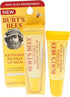 product image for Burt's Bees Squeezable Beeswax Lip Balm for Unisex, 0.35 Ounce