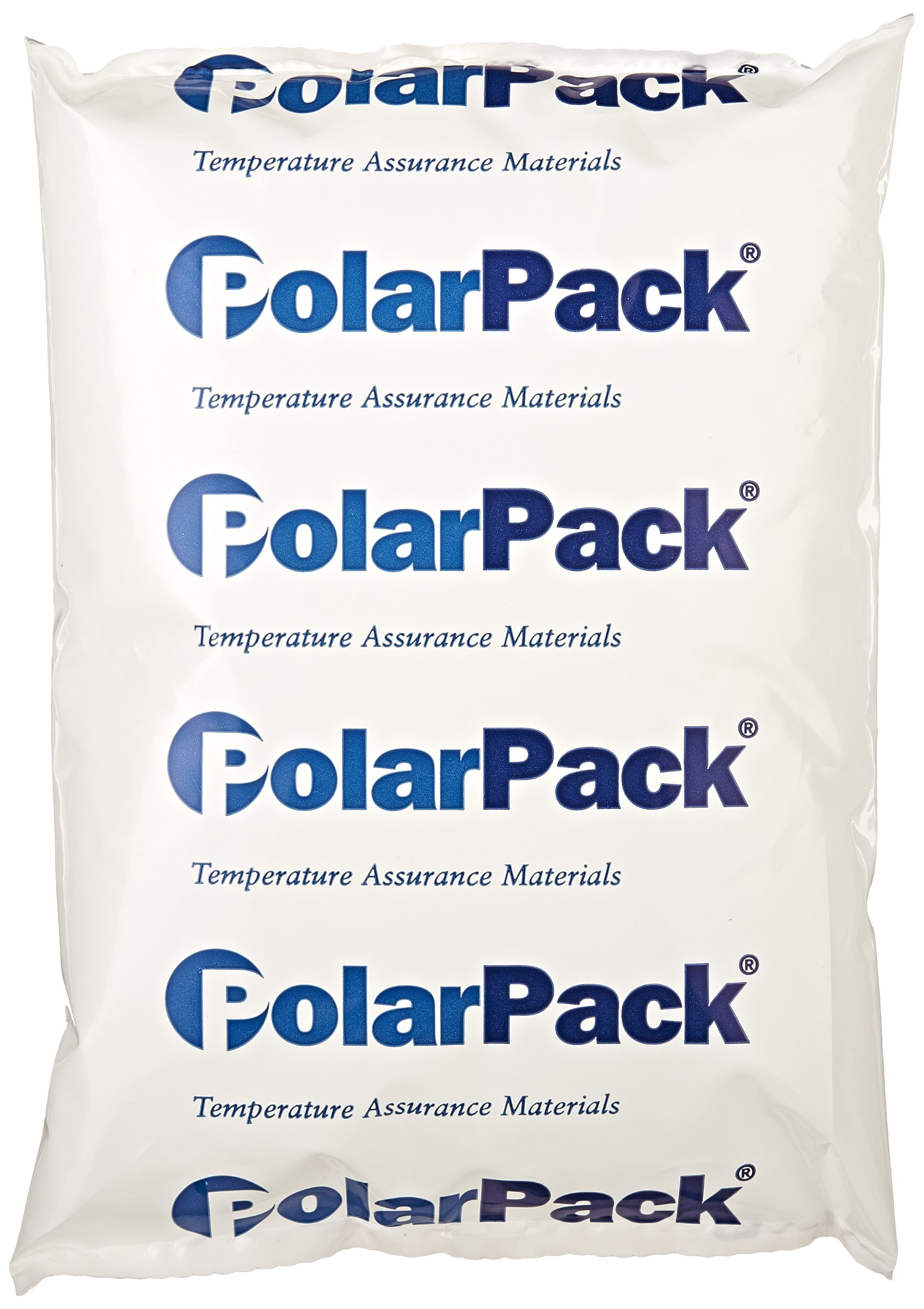 ThermoSafe Polar Pack PP24 Refrigerant Gel Pack, 0°C Temperature, 8'' L x 5.5'' W x 1.25'' H (Case of 24)