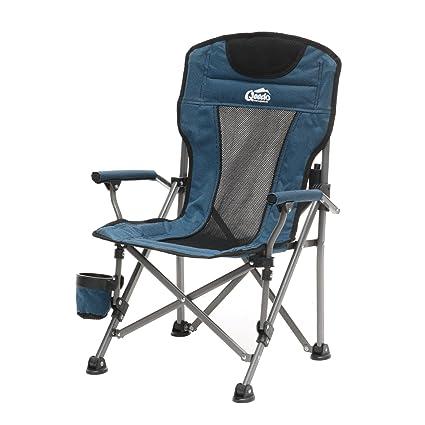 Camping Stuhl Kinder.Qeedo Camping Stuhl Kinder Johnny Junior Bis 60 Kg Klappstuhl Für Mädchen Und Jungen Blau