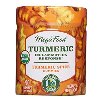 MegaFood, Turmeric Inflammation Response Gummies, Promotes Healthy  Inflammatory Response,