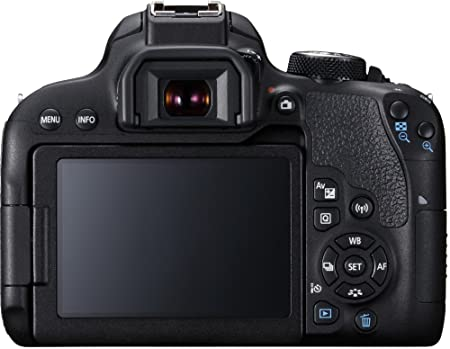 Canon EOS 800D 24.2MP Digital SLR Camera Body (Black) Digital SLRs at amazon