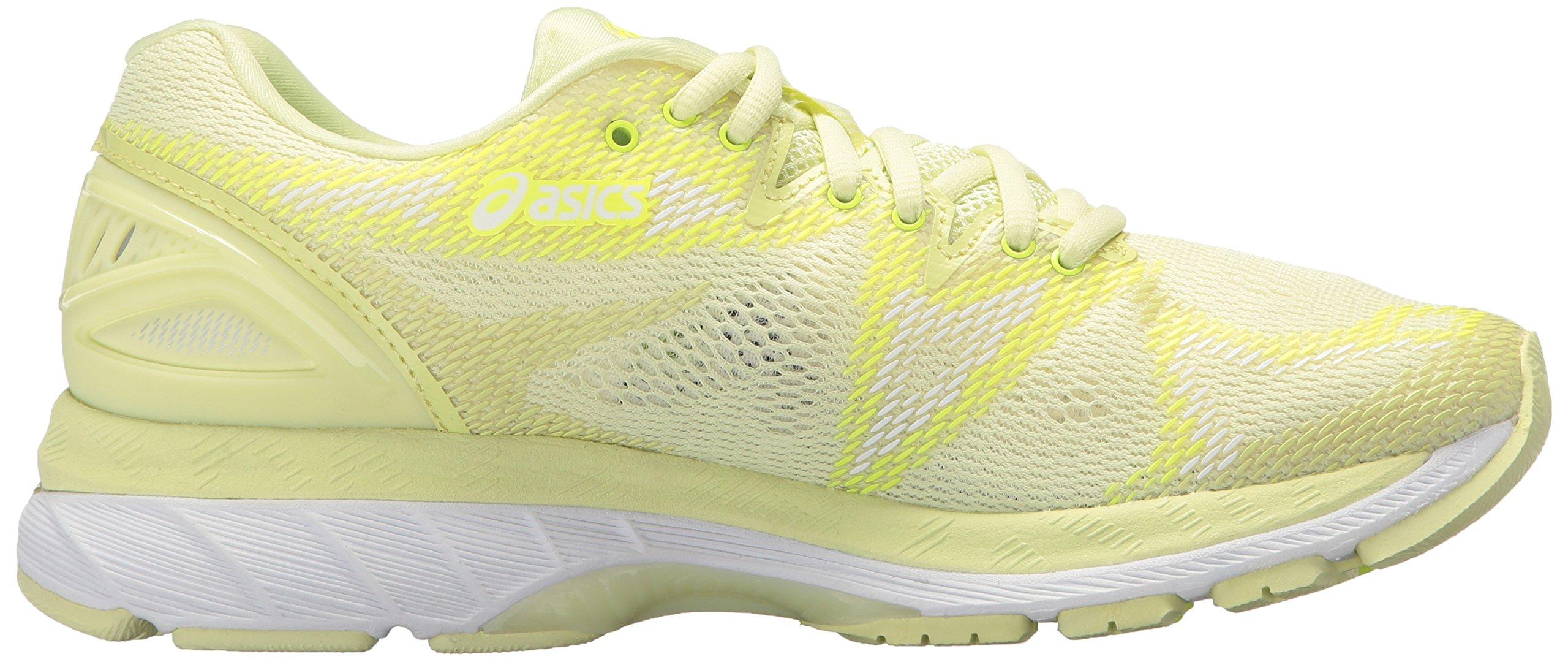 ASICS Women's Gel-Nimbus 20 Running Shoe, limelight/limelight/safety yellow, 5.5 Medium US by ASICS (Image #6)