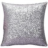 Cushion Glitter Sequins Pillow Case Cafe Home Cushion Cover