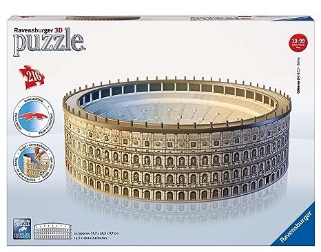 216 Ravensburger itGiochi PezziAmazon E Colosseo Puzzle 3d zUqSMVp