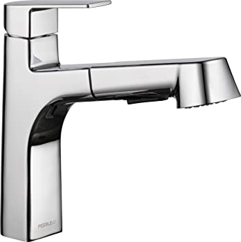 Peerless Xander Single Handle Pull-Out Sprayer Kitchen Faucet