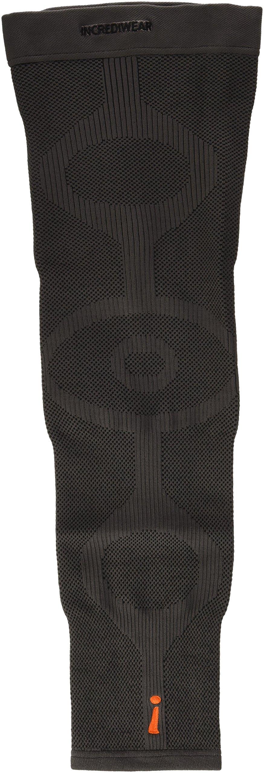 INCREDIWEAR Single Leg Sleeve, Charcoal, Large, 0.03 Pound by Incrediwear