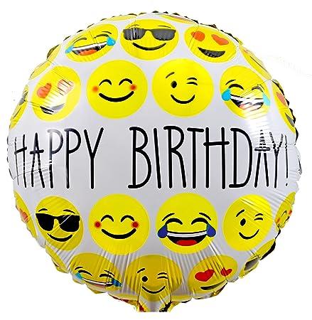 Folienballons Zum Geburtstag Kaufen Kinder Geburtstag Smiley