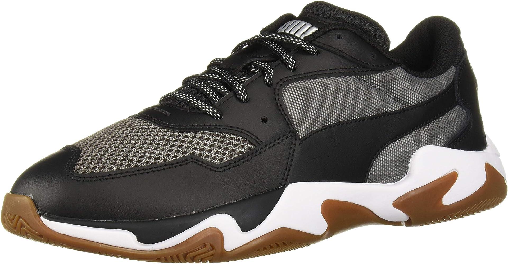 PUMA Men's Storm Pulse Sneaker, Black