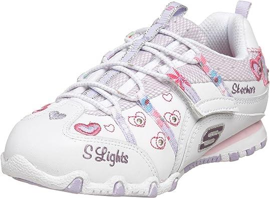 skechers girls light up trainers