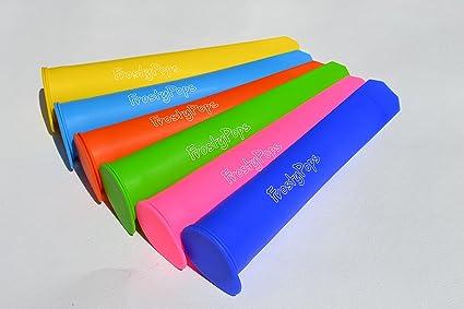 Silicona para moldes FrostyPops estallido del hielo. Está disponible en 4 colores de la diversión