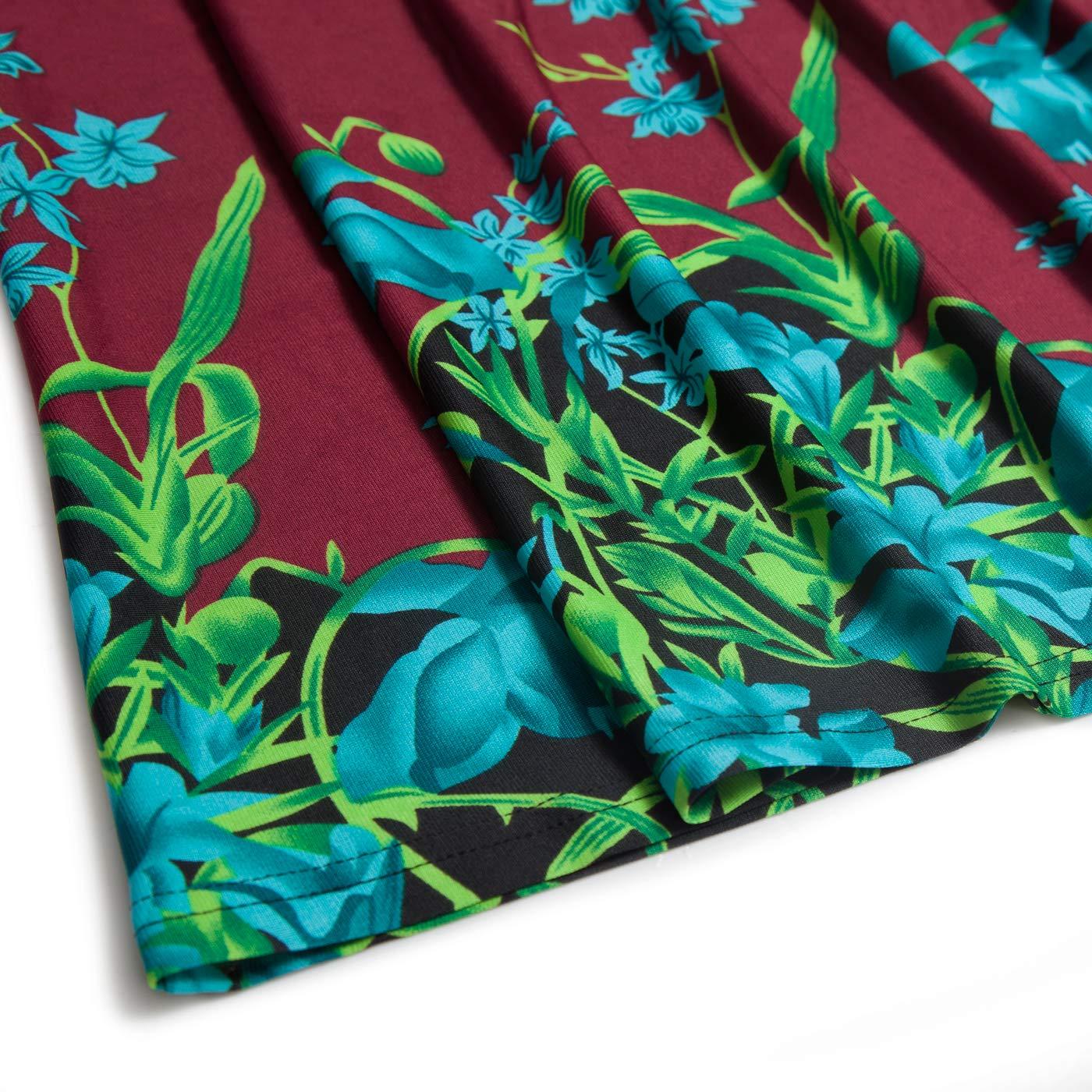 b5c33a7b29d1e2 Women Nandashe Women 3/4 Sleeve Floral Tunic Tops V Neck Loose Blouse  Button up Shirt