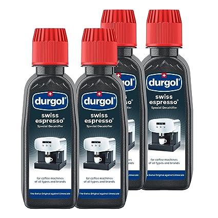 Durgol Swiss Espresso Descalcificador Especial para todas las máquinas de café 2 unidades beige