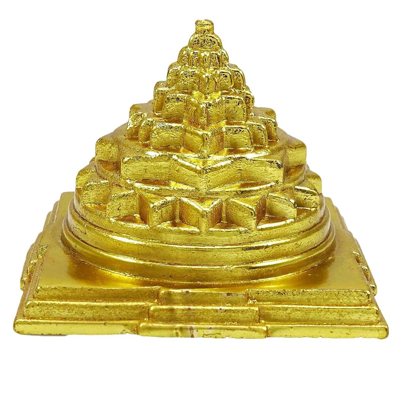 Indian Maha Meru Yantra Brass Vastu Correction & Prosperity Feng Shui Spiritual Ibacrafts