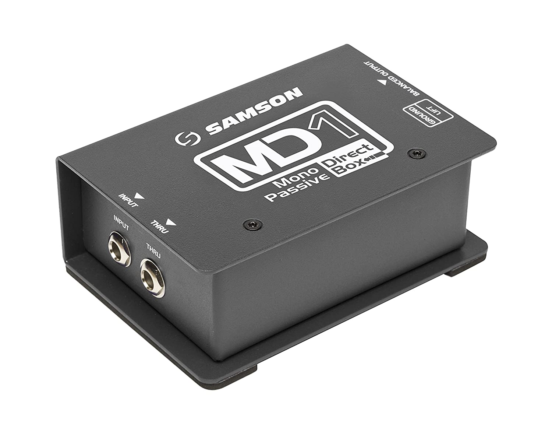 Samson MD1 Mono Passive Direct Box Samson Technologies