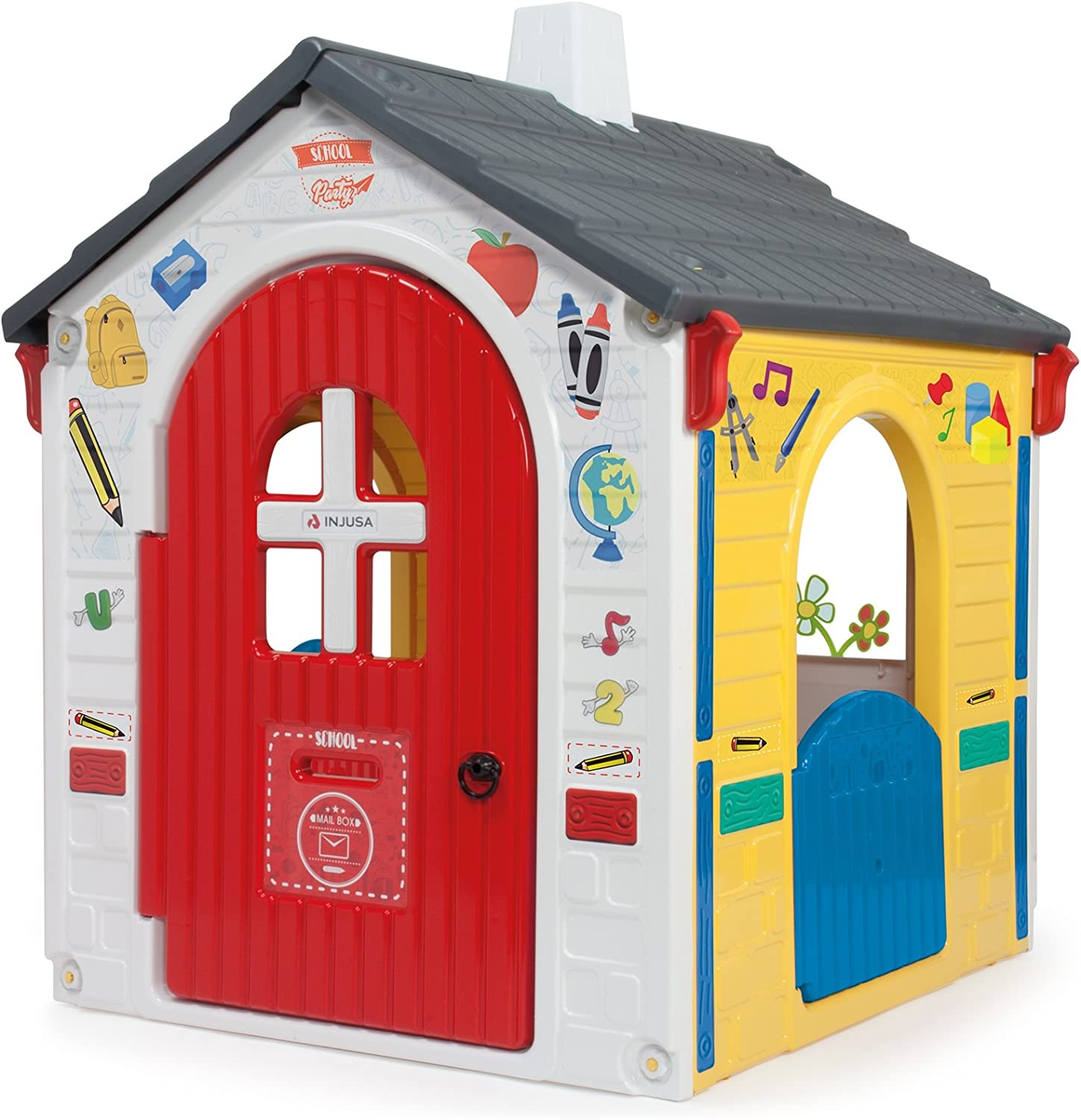 INJUSA-20334 Casa Country E-Learning, multicolor, 21 x 10 x 5 cm (20334) , color/modelo surtido