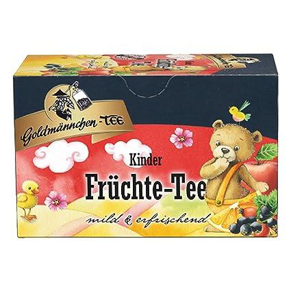 Goldmännchen Kinder früchtetee (té de fruta para niños), 20 ...