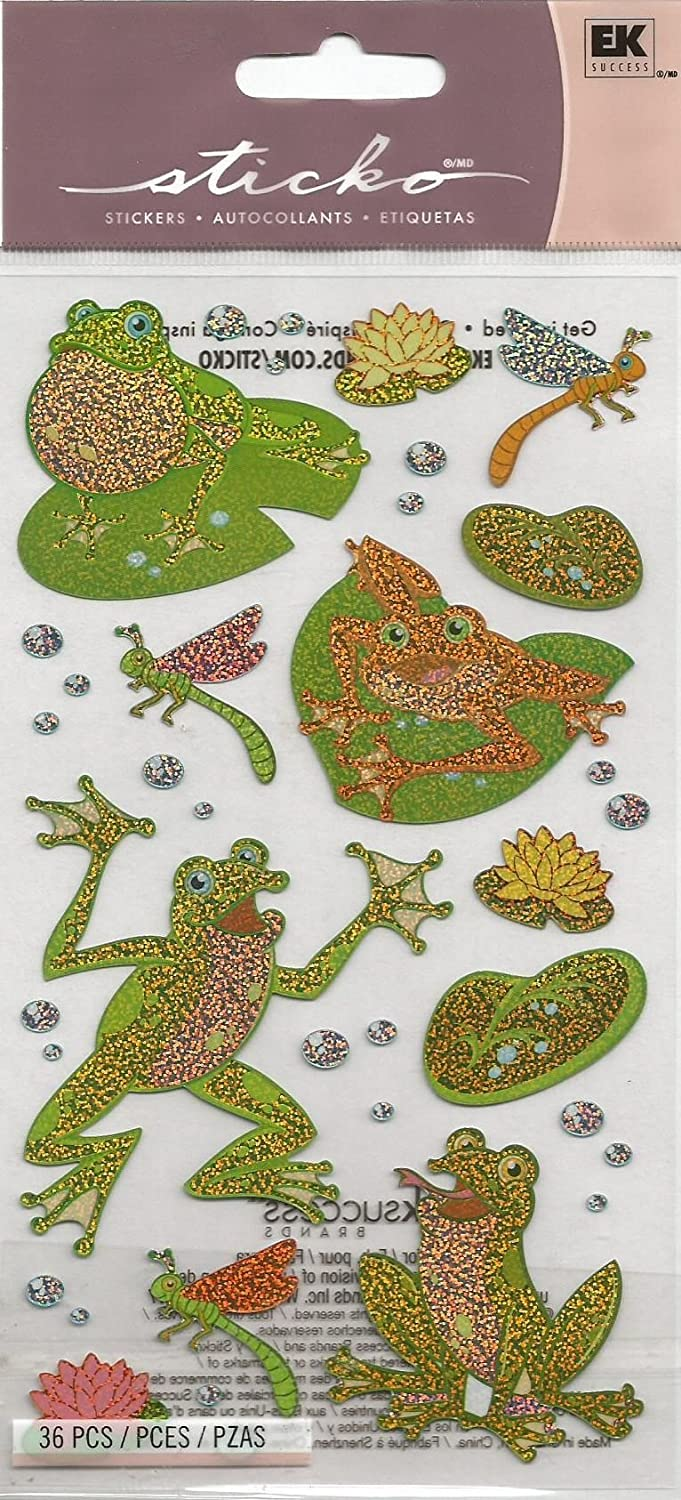 FROGGY STICKERS BY STICKO (1 PACK - 36 PIECES)