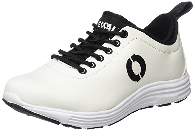 Ecoalf California Sneakers, Zapatillas Unisex Adulto, Blanco (White), 36 EU
