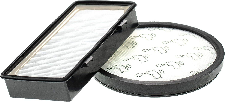 vhbw Set de 2 filtros de aspiradora compatible con Rowenta RO7611, RO7611EA, RO7634, RO7634EA, RO7676. (filtro premotor + de aire de escape): Amazon.es: Hogar