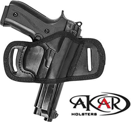 BERETTA 92  Three-Slot Nylon OWB Right Hand Thumb Break Belt Holster Akar