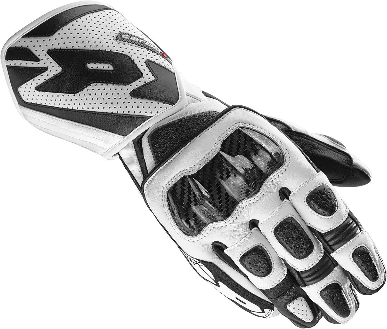 guantes de moto de cuero deportivos Spidi