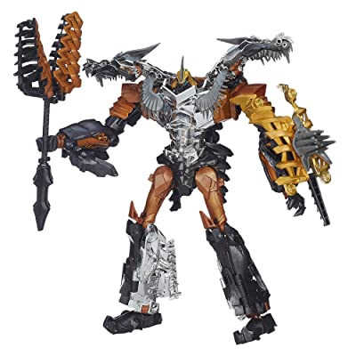 Transformers Age of Extinction Generations Leader Class Grimlock Figure: Toys & Games