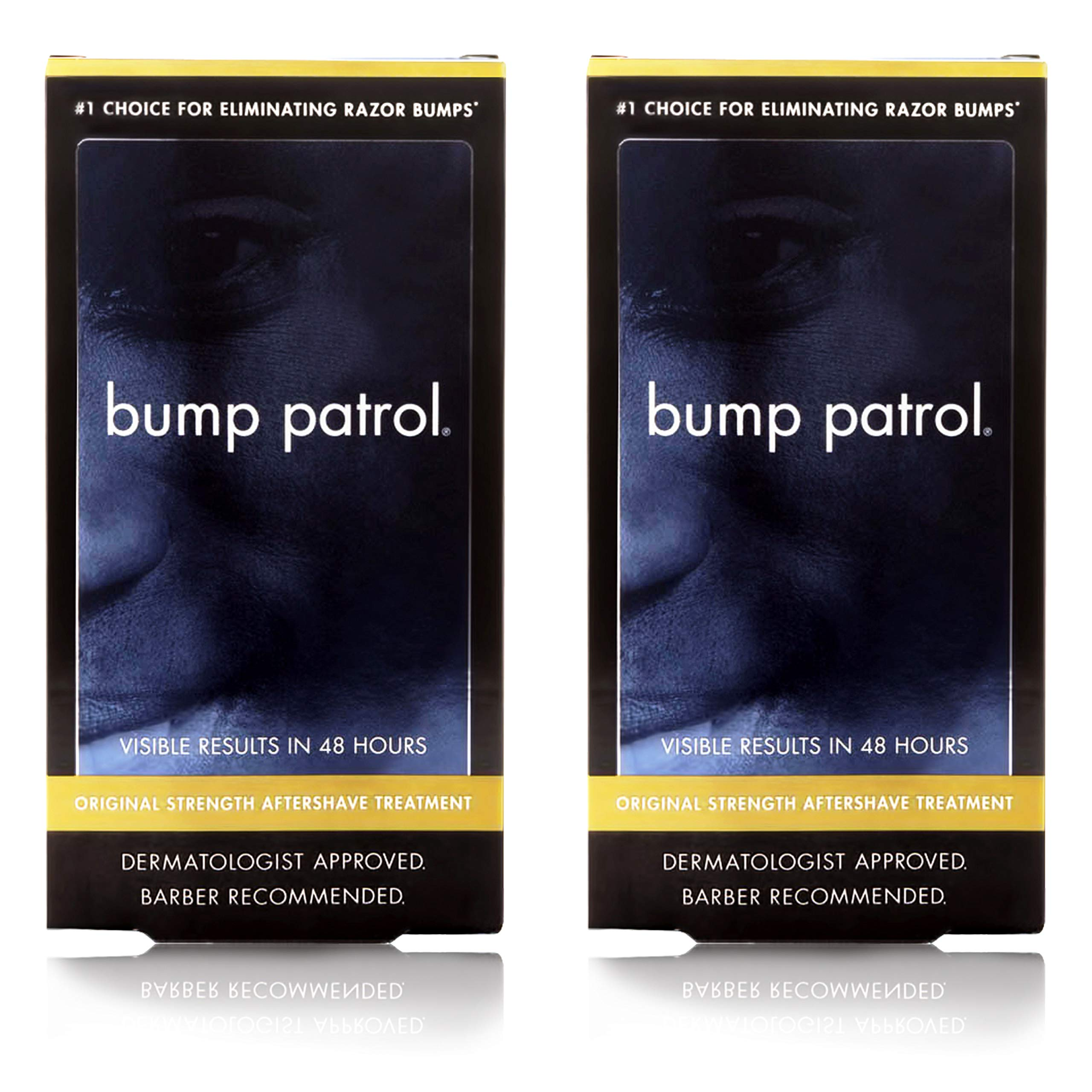 Bump Patrol Dermatologist Approved Original Strength Aftershave Treatment (2 oz) 2 Pack