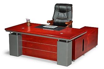 Schreibtisch büro  Chef Schreibtisch Büro Bueromoebel Büroausstattung Kirschbaum ...