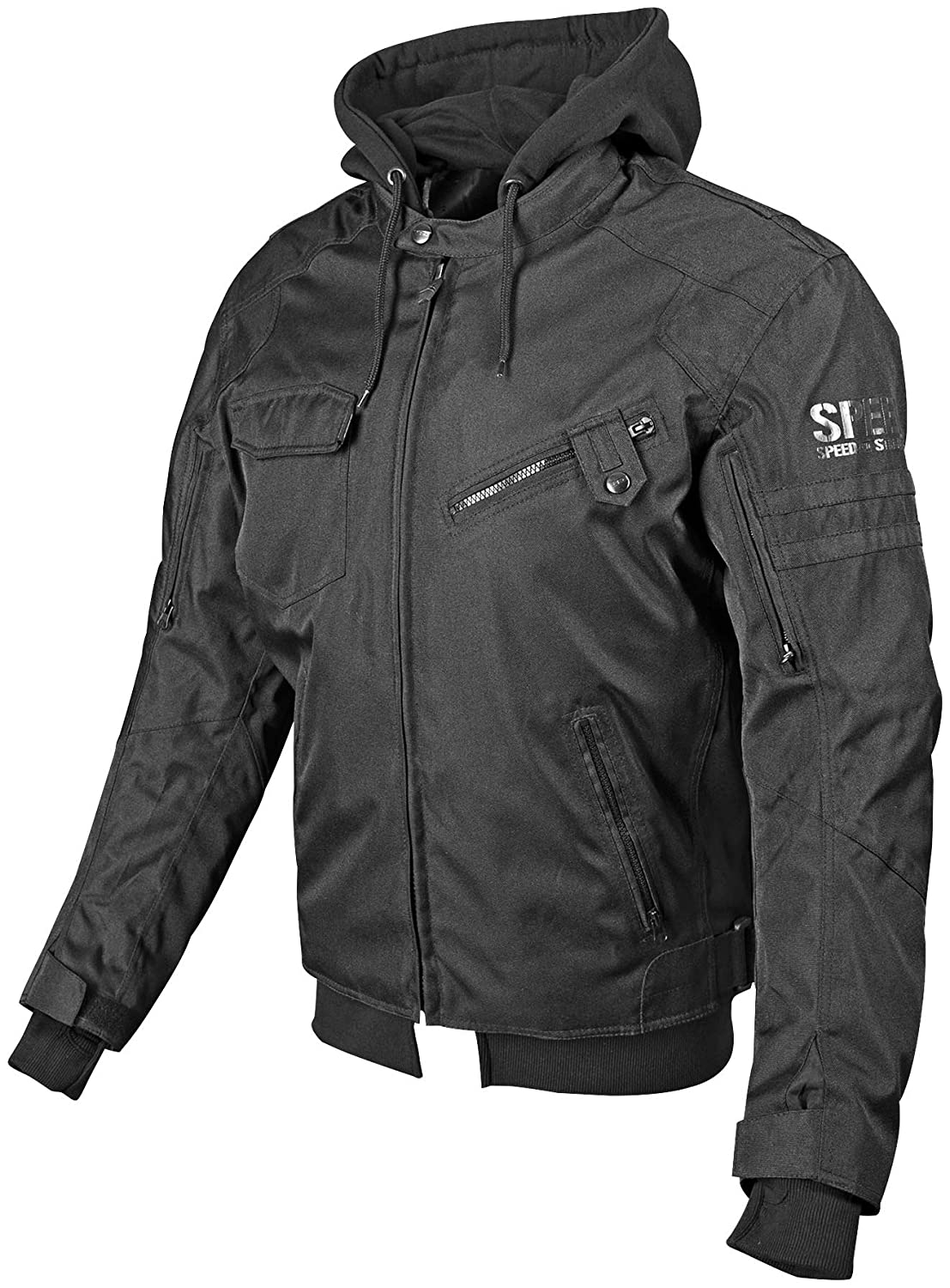 Stealth, X-Large Speed and Strength Off the Chain 2.0 Mens Textile Jacket