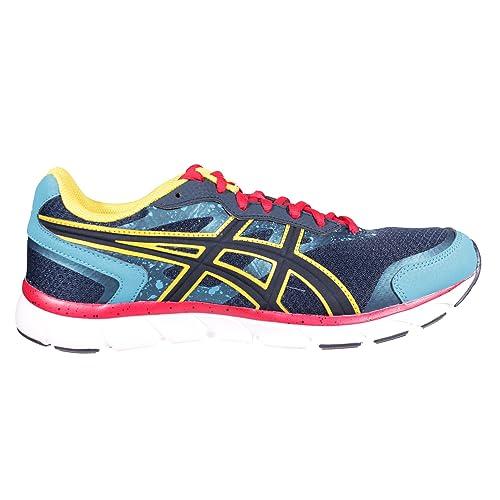 405e8775a Asics - Zapatillas de Running de Lona para Hombre Azul Azul Marino   Amazon.es  Zapatos y complementos