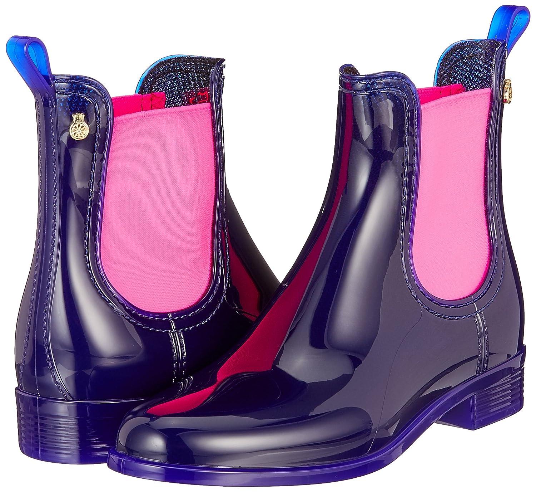 Lemon Jelly Damen Pisa Chelsea Stiefel Pink) Mehrfarbig (Indigo / Neon Pink) Stiefel 35ba32