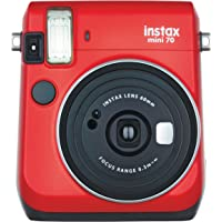 Fujifilm Instax Mini 70 - Instant Film Camera (Red)