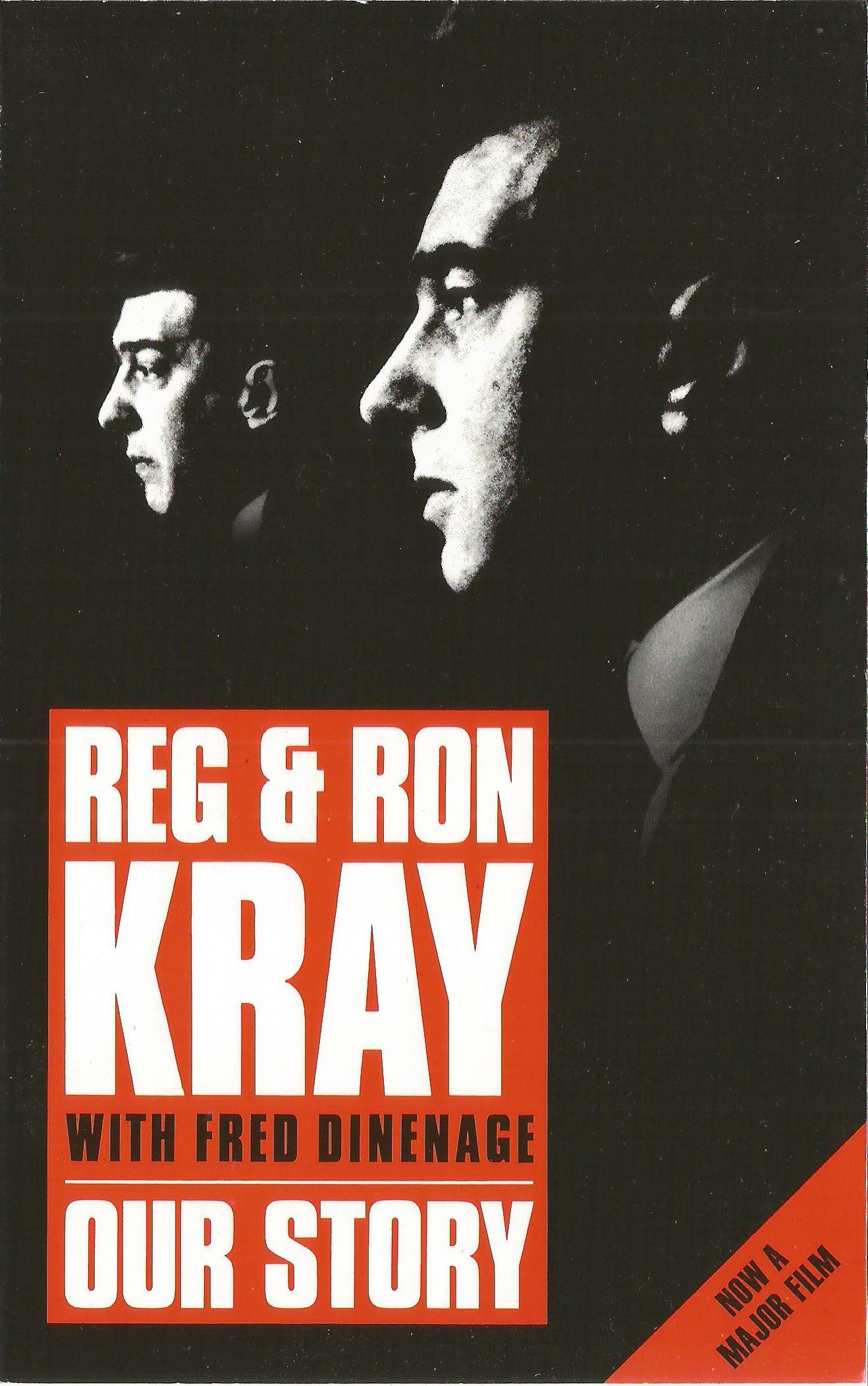 our story amazoncouk reg kray ron kray fred dinenage books
