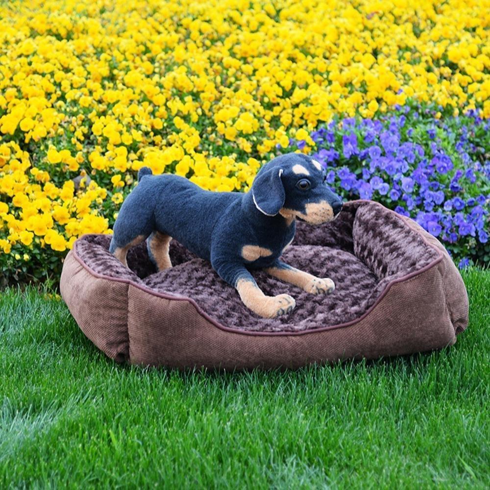 basso prezzo del 40% Lozse Cuscino Cuscino Cuscino Cuccia per Cani Gatto di Panno Marronee Caldo della Fossa di scolo del Nido, 70  50cm per Il Cane e Animali Domestici  la migliore offerta del negozio online