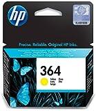 HP 364 Cartuccia Originale Getto d'Inchiostro, Standard, Giallo