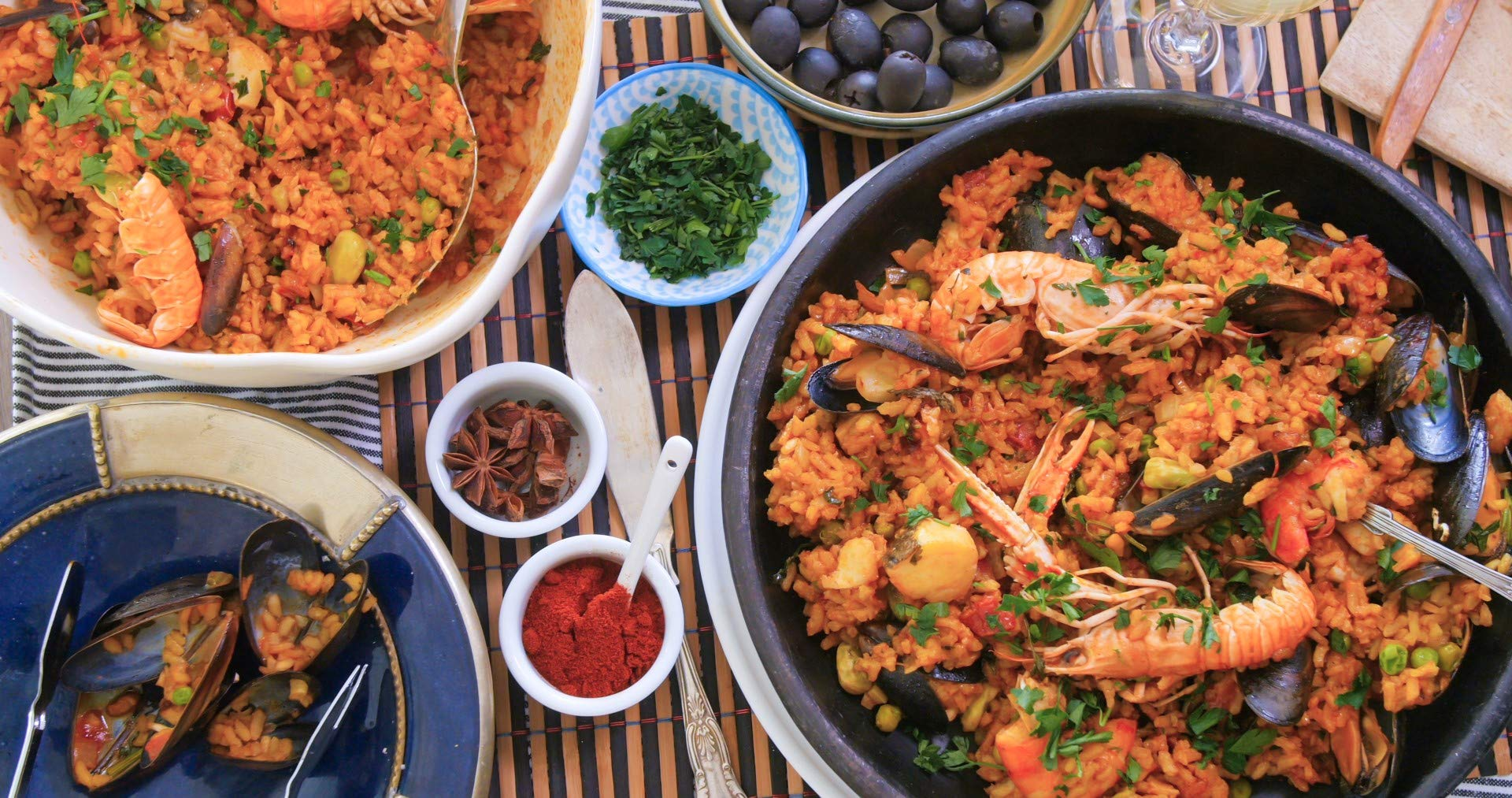 Mari Paz | Spanish Paella Seasoning with Saffron | 31.75oz. | 900grs. | Pack Of 1 by Mari Paz