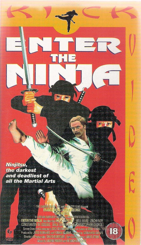 Amazon.com: Enter the Ninja [VHS]: Franco Nero, Susan George ...