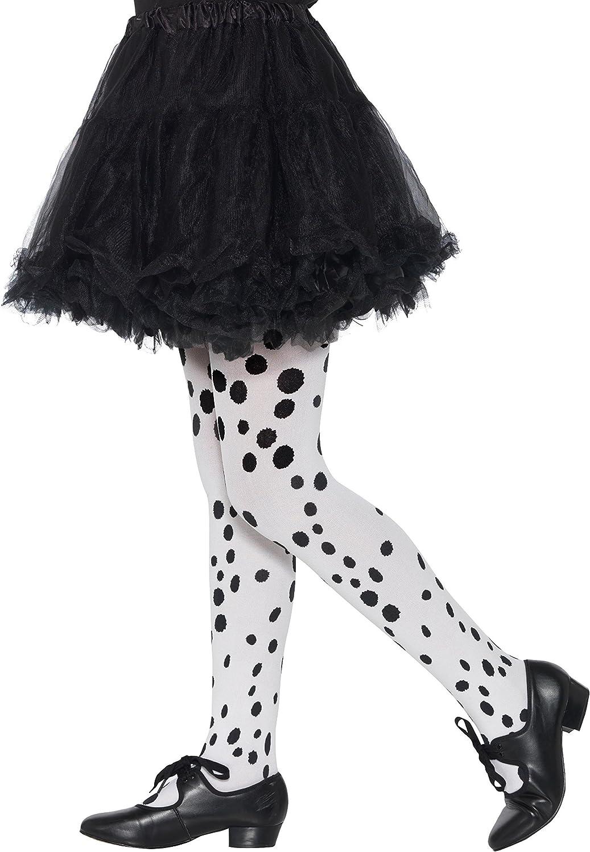 Smiffys Dalmatian Tights, Childs Dálmata Mallas Niños, color negro ...