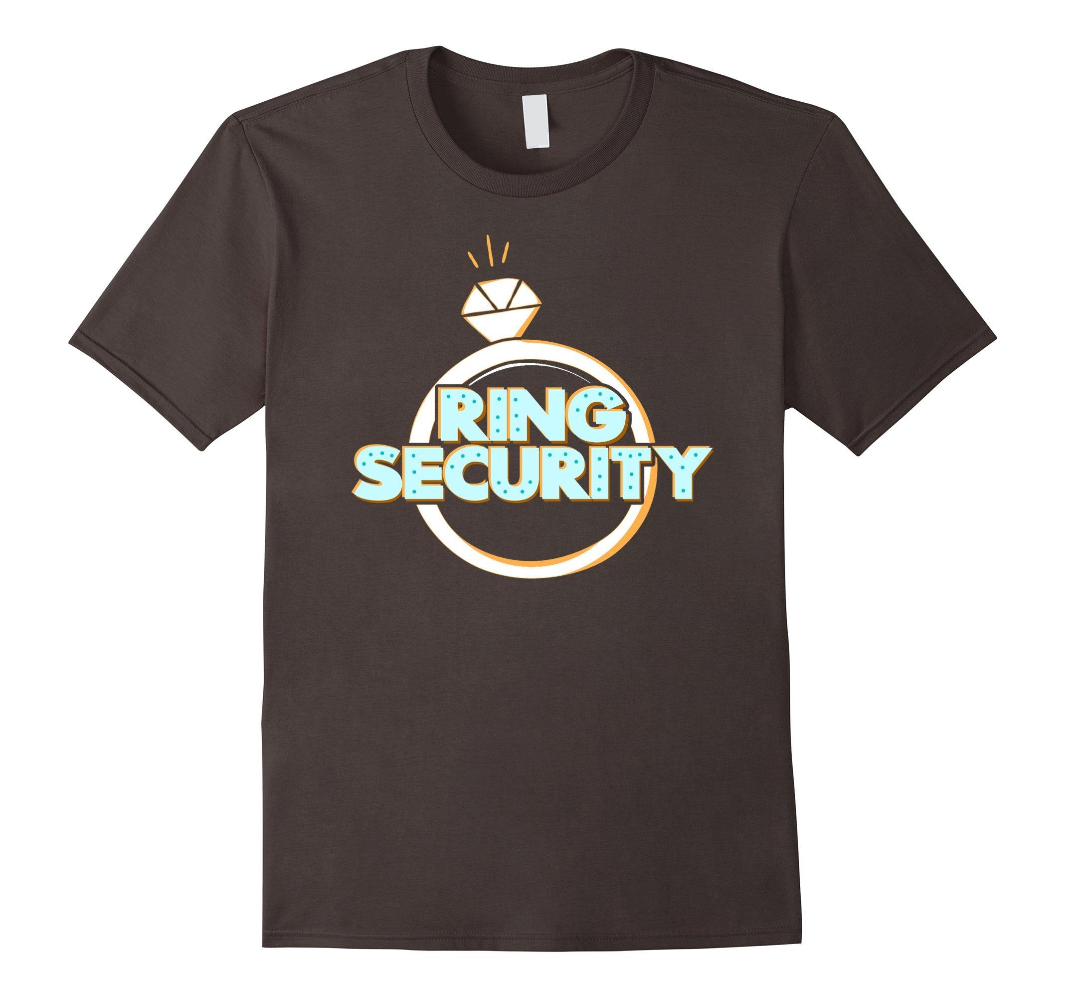 Mens Child Ring Bearer Ring Security Wedding T-Shirt 3XL Asphalt