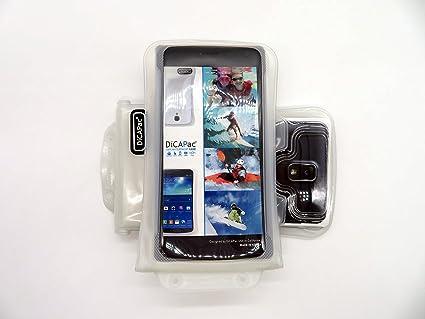 Funda universal sumergible DiCAPac WP-C2 para smartphones y ...