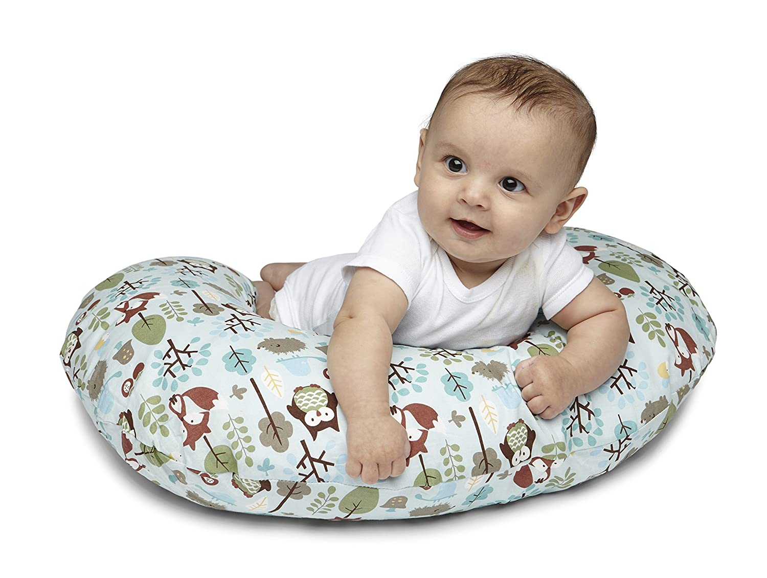 Chicco Boppy Coussin avec Housse Coton Polyester Wild Flowers