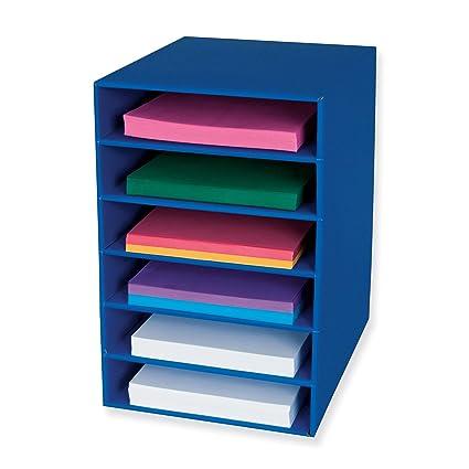 Superieur Classroom Keepers 6 Shelf Organizer, Blue (001312)