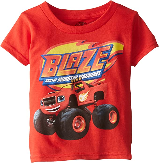 Blaze and the Monster Machines Boys Short Sleeve T-Shirt by Nickelodeon