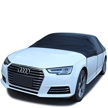 Black Reflective Car Top RooF Cover Windshield Waterproof Protector Sunshade UV