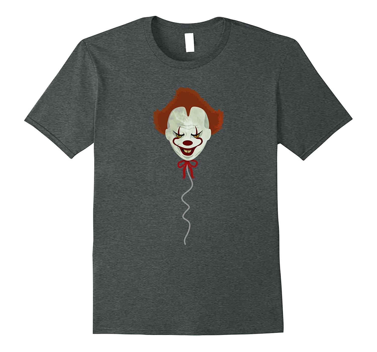 Scary Clown -Easy Halloween Costume - Halloween Shirt-FL